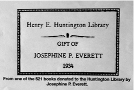 Henry E Huntington Library